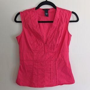 Moda International Sleeveless Pink Top
